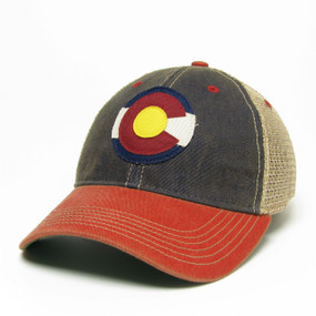 CO FLAG LOGO OFA TRUCKER III