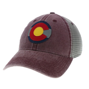 CO FLAG LOGO DTA TRUCKER
