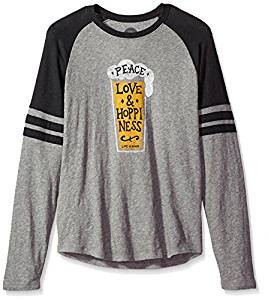 MENS L/S PEACE LOVE HOPPY