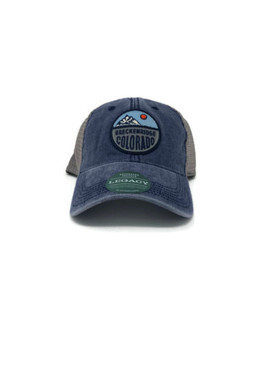DTA TRUCKER SPLIT CIRCLE NAVY