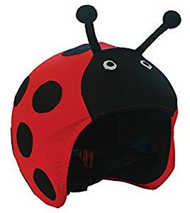 LADY BUG HELMET COVER
