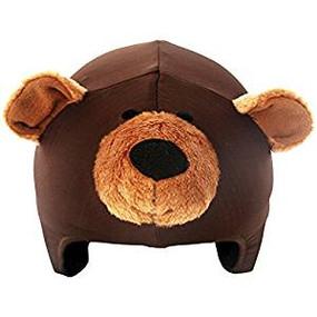 TEDDY BEAR HELMET COVER