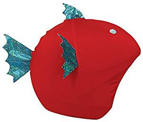 FISH HELMET COVER
