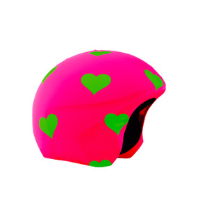 FOGGY HEARTS HELMET COVER