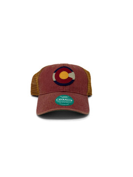 CO FLAG LOGO OFA COPPER TRUCKER