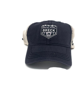 WASHED TRUCKER CAP BLK