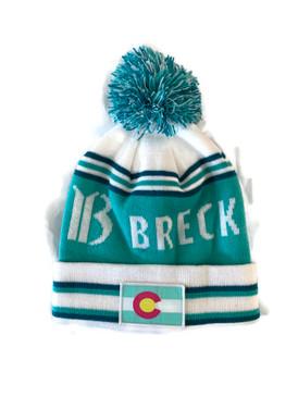 BRECK CO FLAG BEANIE XI