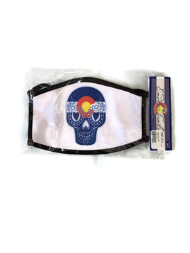 SUGAR SKULL CO MASK LG