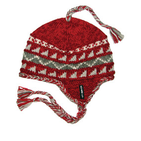 SHERPA EARFLAP RED
