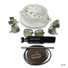 """A&A 6 Port Top Feed Retro T-Valve Kit   1.5""""   540234"""