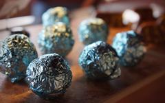 Smokey Blue Cheese Truffles