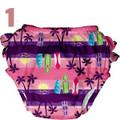 Iplay - Mix And Match Ultimate Ruffle Swim Diaper - Girl