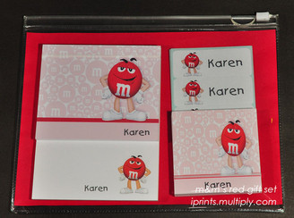 M&M's Red classic giftset