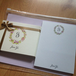 Foldover & Notepad giftset