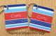 Nautical Stripes mini tags