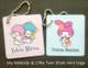 Little Twin Stars & My Melody mini tags