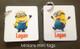 Minions mini tags