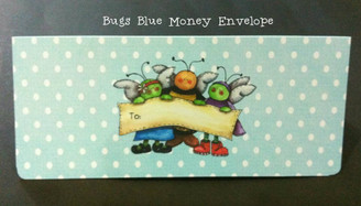 Bugs Blue Money Envelope