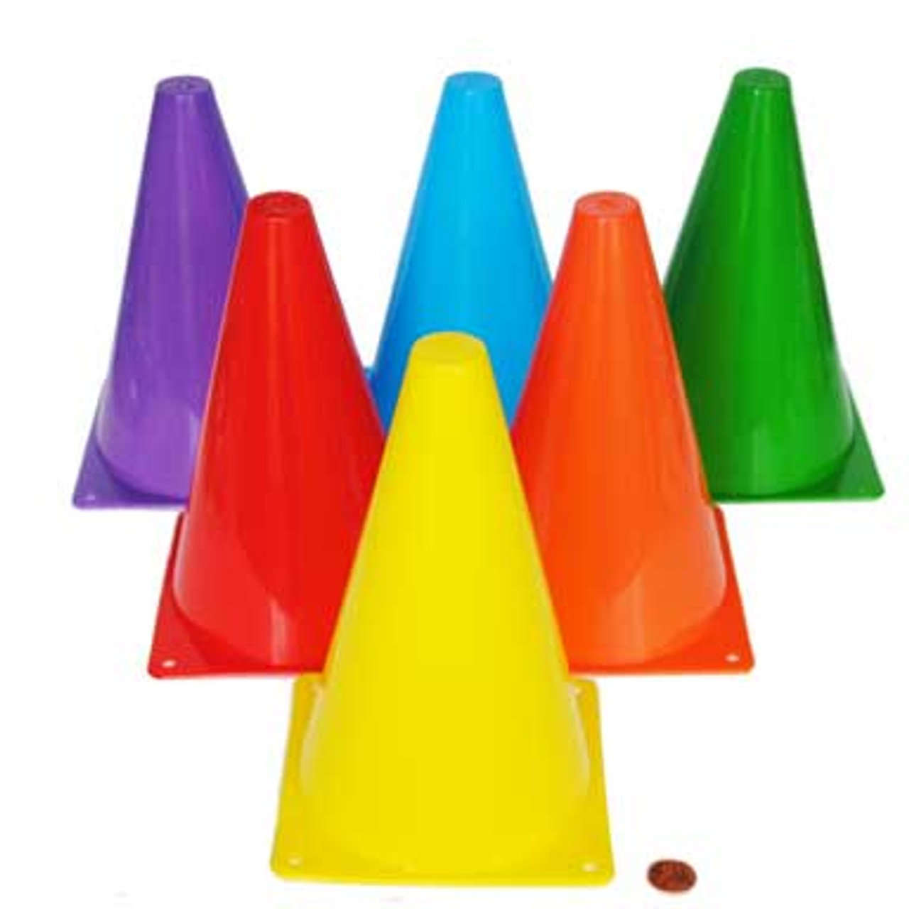 Colorful Cones Carnival Supplies