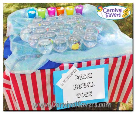 Fish Bowl Carnival Game Carnival Game Ideas