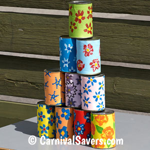 Carnival Game For Kids Can Knock Down Carnival Game