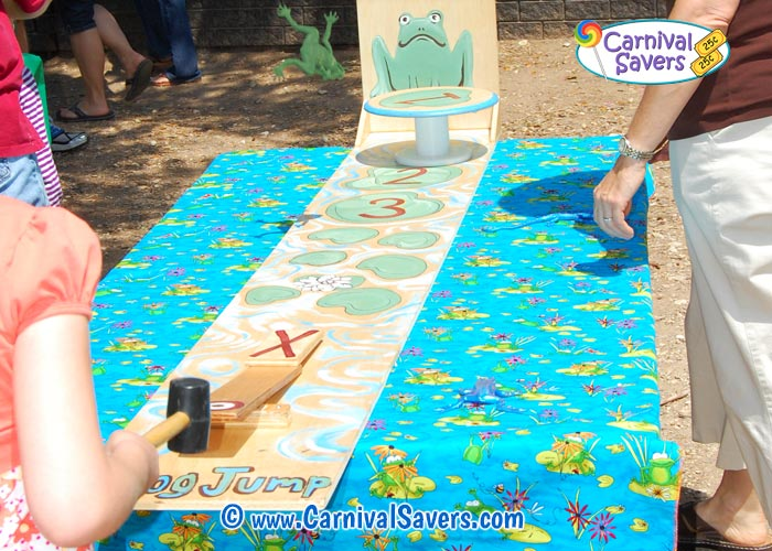 Carnival Game And Booth Ideas Leap Frog Bean Bag Game