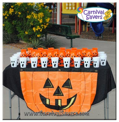 Ping Pong Pumpkin Easy Halloween Game For Kids