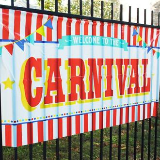 Carnival Sign Large Carnival Banner