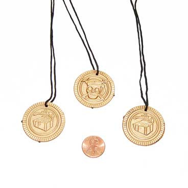 Pirate Coin Necklace Toys
