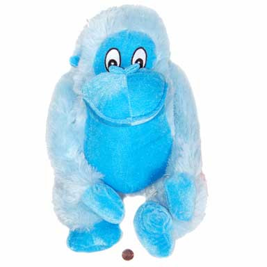 Stuffed Big Blue Monkey Super Cute Blue Stuffed Animal