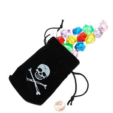 Pirate Jewels in Drawstring Bag Prize
