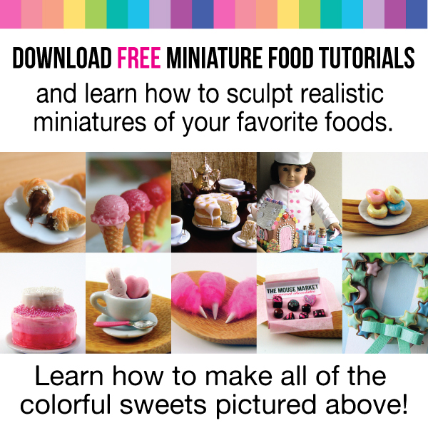 349d6462629f Free Polymer Clay Miniature Food Tutorial - Download it Now!