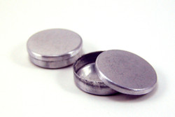 Dollhouse Miniature Cookie Tin, Round - 1/12 scale