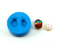 Details about  /12 Miniature Easter Decorations Eggs Mini Food 1:12 Scaled Polymer Clay Grocery