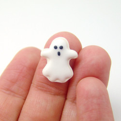 Polymer Clay Mold // Large Ghost Cookie for One-Sixth Scale // Blythe Barbie Cookie Mold