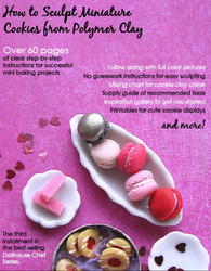 Miniature Baking Set // Three eBook Tutorials // DIY Miniature Sweets Projects