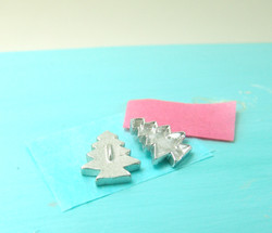 Dollhouse Miniature Christmas Tree Cookie Cutter - 1/12 scale