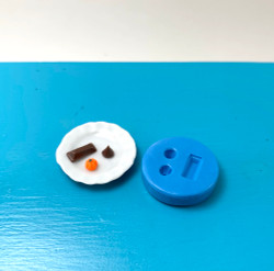 Dollhouse Miniature Candies Mold //  Flexible Silicone Mold