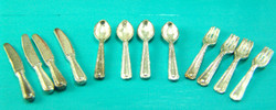 Dollhouse Miniature Silverware - 1/12 scale
