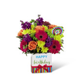 The FTD Birthday Brights Bouquet - Premium