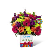 The FTD Birthday Brights Bouquet - Exquisite