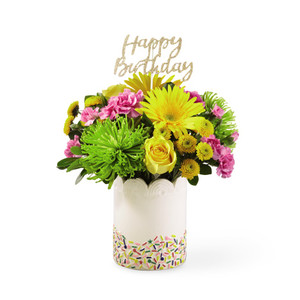 The FTD® Birthday Sprinkles™ Bouquet - Standard