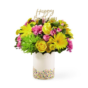 The FTD® Birthday Sprinkles™ Bouquet - Deluxe