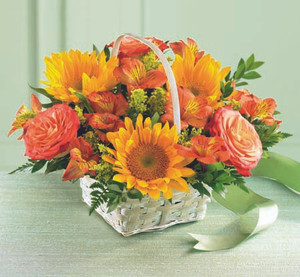 Happy Blooms Basket