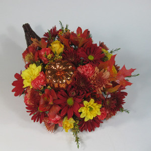 Copious Cornucopia blooming with rich Fall hues!