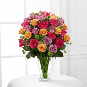 The FTD® Pure Enchantment™ Rose Bouquet - Elegant