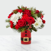 The FTD® Let's Be Jolly™ Bouquet 19-C1 - Deluxe