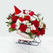 The FTD® Dashing Through The Snow™ Bouquet 19-C4 - Premium