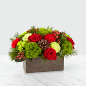 The FTD® Christmas Cabin™ Bouquet 19-C6 Deluxe