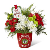 FTD I'll Jingle to That Bouquet - 17-C7s